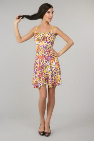 Платье Exilia. Цвет: желтый