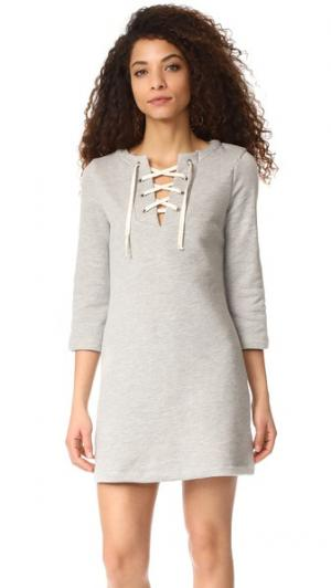 Платье Hannah RUKEN. Цвет: серый меланж
