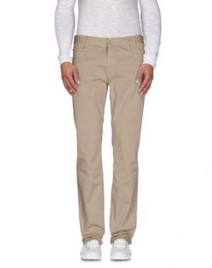 Повседневные брюки BROOKSFIELD. Цвет: песочный