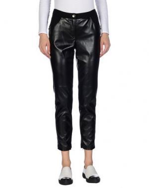Повседневные брюки SEVERI DARLING. Цвет: черный