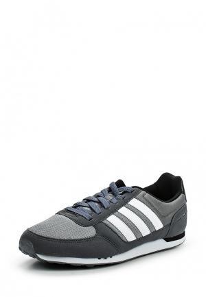 Кроссовки adidas Neo. Цвет: серый