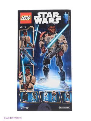 Игрушка Звездные войны Финн модель 75116 Star Wars LEGO. Цвет: черный