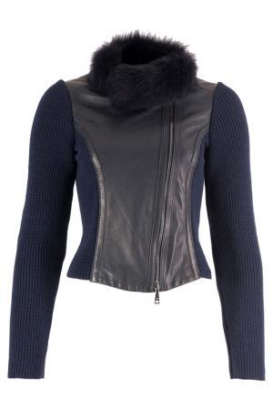Куртка Emporio Armani. Цвет: темно-синий