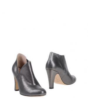 Ботинки NORA. Цвет: свинцово-серый