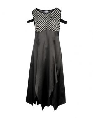 Короткое платье AKEP. Цвет: черный