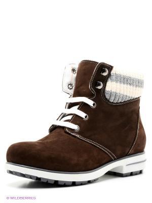 Ботинки WAYKO. Цвет: темно-коричневый