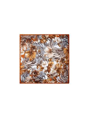 Платок Venera. Цвет: коричневый, кремовый, терракотовый