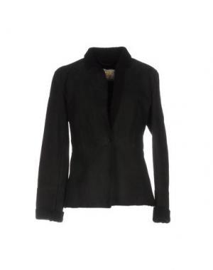 Куртка VINTAGE DE LUXE. Цвет: черный