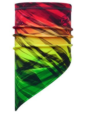 Бандана TECH FLEECE BANDANA CAUW MULTI Buff. Цвет: желтый, зеленый, красный
