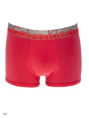 Трусы Calvin Klein. Цвет: малиновый