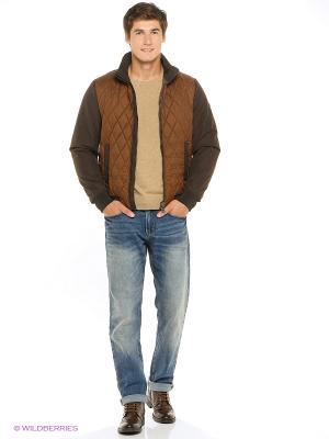 Куртка GEOX. Цвет: коричневый, светло-коричневый