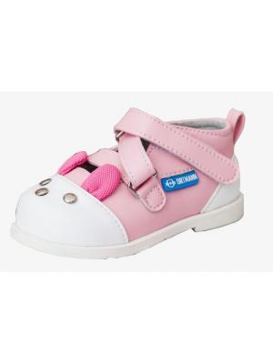 Обувь ортопедическая малосложная MALAGA, арт. 7.119.2 ORTMANN. Цвет: розовый
