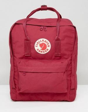 Fjallraven Красный рюкзак объемом 16 л Kanken. Цвет: красный