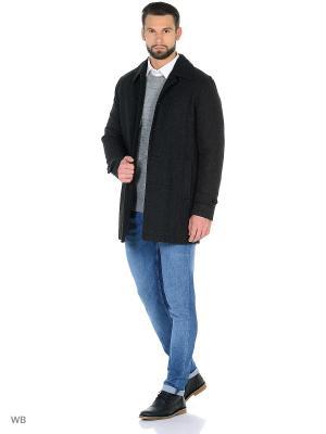Пальто SELECTED. Цвет: темно-серый