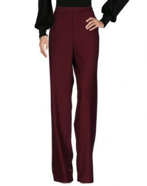 Повседневные брюки FONTANA COUTURE. Цвет: красно-коричневый