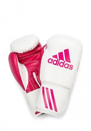 Перчатки боксерские adidas Combat. Цвет: разноцветный