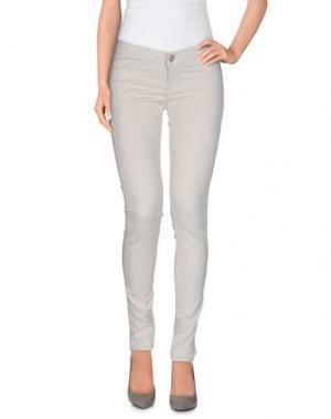 Повседневные брюки TAKE-TWO. Цвет: светло-серый