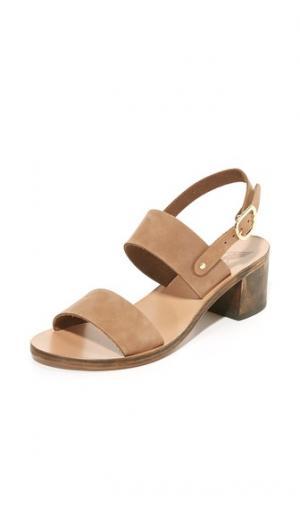 Сандалии Lefki Block City Ancient Greek Sandals. Цвет: капучино