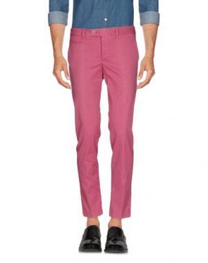 Повседневные брюки HARRY & SONS. Цвет: пурпурный