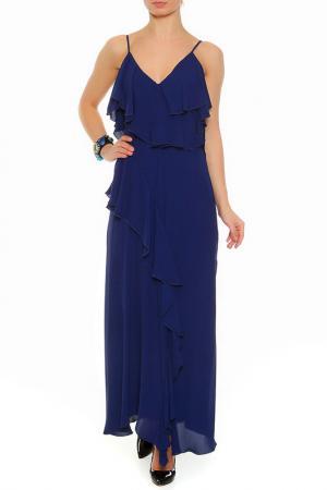 Платье XS MILANO. Цвет: синий