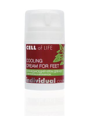 Охлаждающий крем для ног с ментолом и аргинином I.C.Lab Individual cosmetic. Цвет: белый