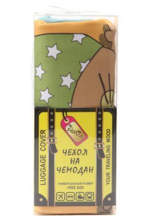 Чехол на чемодан SOVA COVER. Цвет: хома