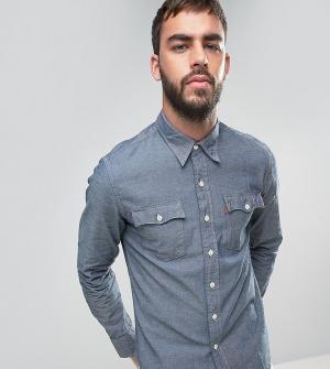 Levis Джинсовая рубашка из переработанной ткани шамбре Orange Tab. Цвет: синий