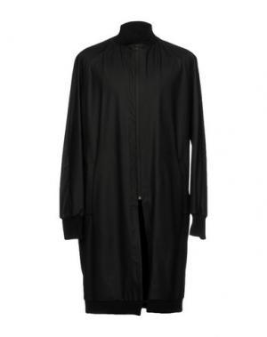 Легкое пальто NOSTRASANTISSIMA. Цвет: черный