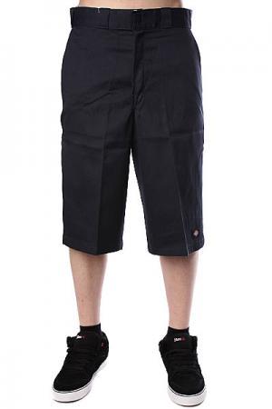 Классические мужские шорты  15 Work Short W/Cell Phone Pocket Dk.Navy Dickies. Цвет: синий