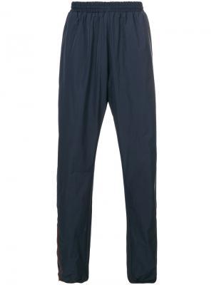 Трикотажные брюки Season 5 Yeezy. Цвет: синий
