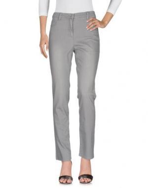 Джинсовые брюки BARBARA LEBEK. Цвет: серый