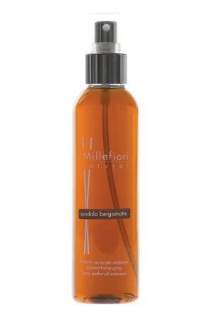 Духи-спрей для дома 150 мл millefiori milano. Цвет: коричневый