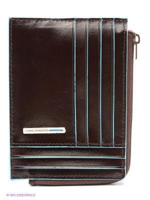Чехол для кредитных карт PIQUADRO. Цвет: коричневый
