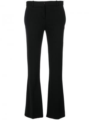 Расклешенные брюки Versace. Цвет: чёрный