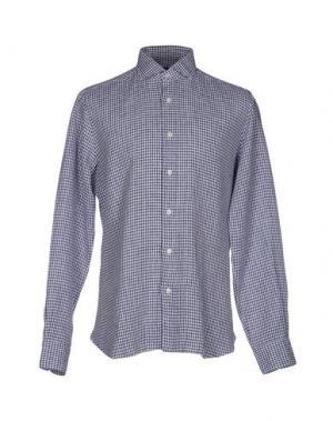 Pубашка DANDYLIFE by BARBA. Цвет: темно-фиолетовый