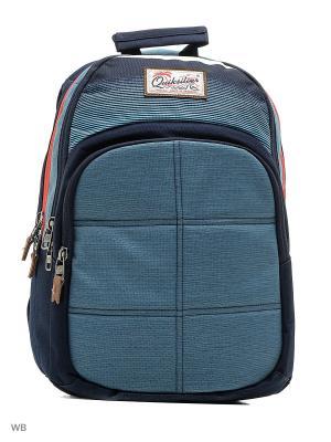 Рюкзак Quiksilver. Цвет: голубой