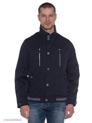 Куртка Gate One. Цвет: темно-синий
