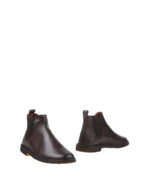 Полусапоги и высокие ботинки CANTARELLI. Цвет: темно-коричневый