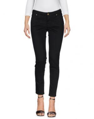 Джинсовые брюки TRUE NYC.. Цвет: черный