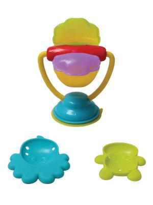 Игрушка для ванны Мельница Playgro. Цвет: голубой, желтый, зеленый