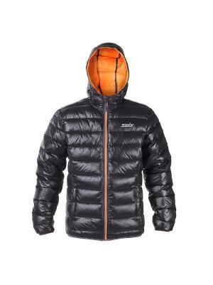Пуховая Куртка Romsdal Swix. Цвет: черный, оранжевый