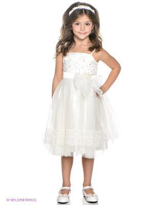 Платье ERKUT. Цвет: кремовый