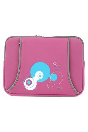 Чехол для ноутбука Sumdex. Цвет: малиновый