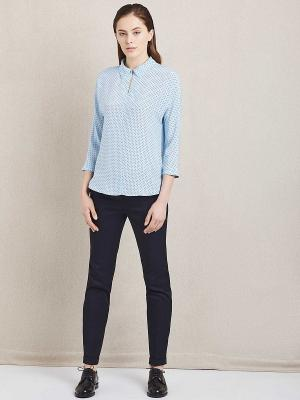 Блуза женская Charuel. Цвет: голубой