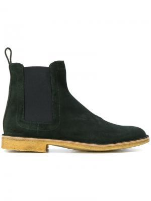 Ботинки Челси Bottega Veneta. Цвет: серый