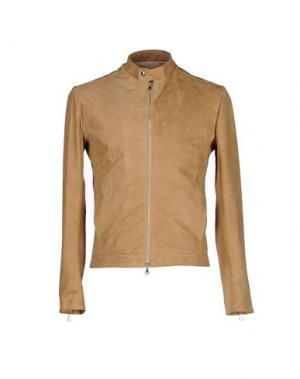 Куртка ROBERTO PEPE. Цвет: бежевый