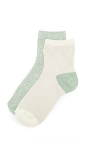Набор из двух пар носков до щиколотки Madewell