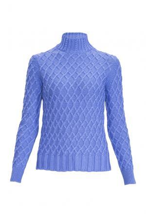 Джемпер из шелка с кашемиром 136702 Sweet Sweaters. Цвет: синий