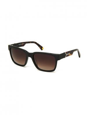 Солнцезащитные очки RY 574S 01 Replay. Цвет: черный, коричневый
