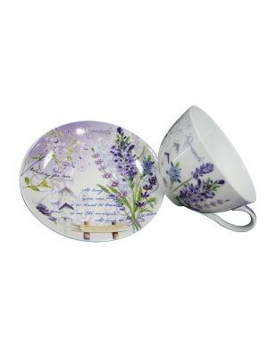 Набор Лаванда Gift'n'Home. Цвет: белый, сиреневый, фиолетовый